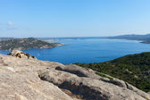 North Sardinia coast at cape Dorso, Italy. — Foto Stock