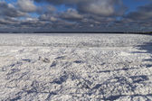 Ostsee im winter. — Stockfoto