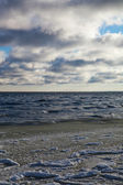 Baltic sea in winter. — Stock Photo