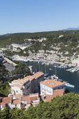 Bonifacio city, Corsica , France. — Stock Photo