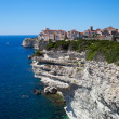 Stock Photo: Bonifacio, Corsica, France.