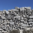 Stock Photo: Stone fence.