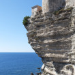 Stock Photo: Bonifacio coast, Corsic, France.