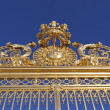 Stock Photo: Detail of Versailles palace gate, Paris.