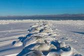 балтийское море в зимний период. — Стоковое фото