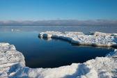 Mar báltico en invierno. — Foto de Stock