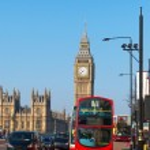 Westminster bridge in London, United Kingdom. — Stock Photo #42451611
