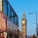 Westminster bridge in London, United Kingdom. — Stock Photo #42451623