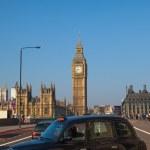 Westminster bridge in London, United Kingdom. — Stock Photo #42451627