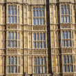 Arhitectur detail of Houses of Parliament, London. — Stockfoto #44724639