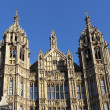 Arhitectur detail of Houses of Parliament, London. — Stockfoto #44724641