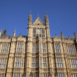 Arhitectur detail of Houses of Parliament, London. — Foto Stock