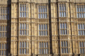 Arhitectur detail of Houses of Parliament, London. — Stockfoto