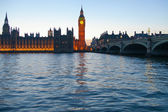 Abend in london. — Stockfoto