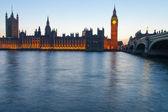 Evening in London. — Stock Photo