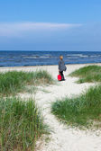 Baltic beach. — Stock Photo
