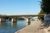 Pont des Arts, Paris. — Stock Photo