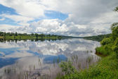 River Daugava, Latvia. — Stock Photo