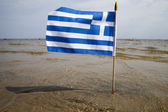Greece flag. — Stock Photo