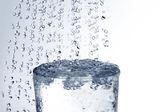 Water glass. — Stock Photo