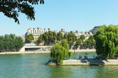 Seine river in Paris, France. — 图库照片