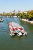 Seine river in Paris, France. — Stock Photo