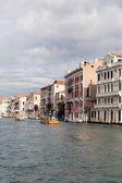 Veneza, grand canal. — Foto Stock
