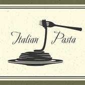 Pâtes italiennes — Vecteur