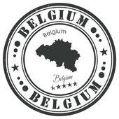 Belgium stamp — Stock Vector