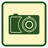 Camera icon — Stock vektor