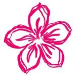 Flower pink — Stock Vector