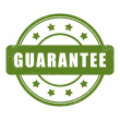Stock Vector: Guarantee stamp