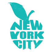 New York — Stock Vector