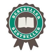 Etykieta bestsellerem — Wektor stockowy