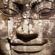 Bayon face — Stock Photo