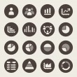 Stock Vector: Infographic icons