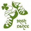 Irish dance shoes — Image vectorielle