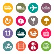 Logistic icons set — Stock Vector #33571193