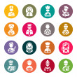 Professions icons set — Stock Vector #33571301