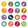 Tools icons set — Stock Vector #33571399
