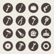 Tools icons set — Stock Vector #33571445
