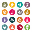 Christmas icons — Stock Vector #33571665