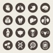 Vector de stock : Medical icons