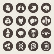 Medical icons — Vector de stock #33571699