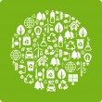Eco background — Stock Vector