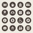Camping icons — Stock Vector #33572753