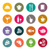 餐厅的图标 — 图库矢量图片