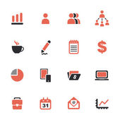 Business theme icons — Stock Vector