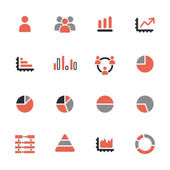 Infographic icons — Stock Vector