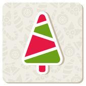 Christmas tree — Vecteur